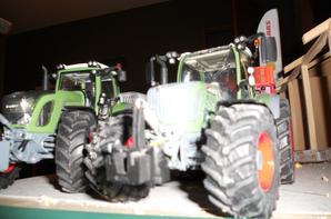 un petit passage sur les benne et tracteur