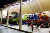 nouvelle éclairage hangar