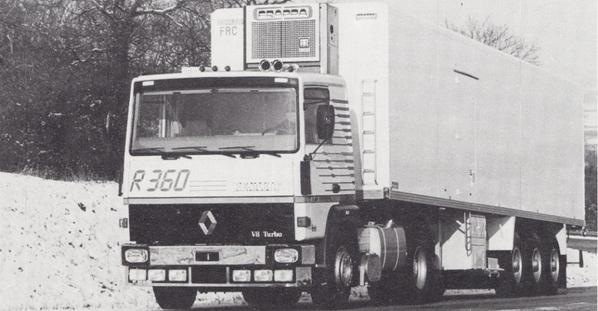 Renault dans les années 80 du siècle dernier. 001.