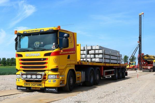 Boterbloem Transport Hillegom Pays-Bas.