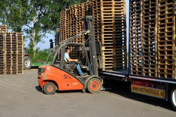 Photos prises dans le commerce de pommes de terre Tuinstra Herkingen Pays-Bas.