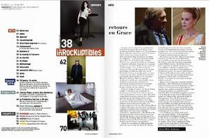 Kristen Stewart en couverture du magazine français : les inrockuptibles
