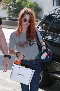 Kristen à LAX de 27/05/14