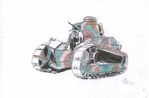 Noms des chars présent: Renault FT-17, E.B.R, Stuart, M31, Destroyers M10