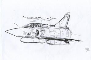 Coté Aviation dont celui que je viens dy faire est un Mirage 2000 tandis que le 2ème date de la 2ème guerre mondiale.