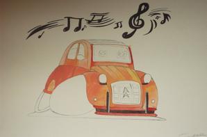 """Citroen 2CV """"musical"""""""