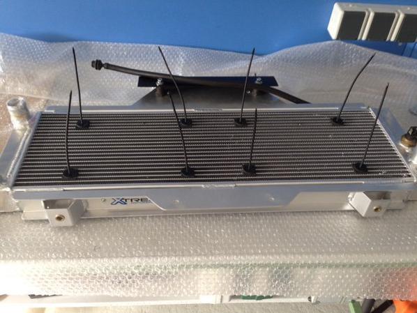 Montage du radiateur.