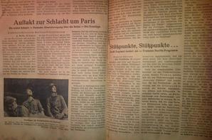 Journaux Allemand WW2