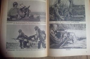 Livret de Propagande d'Armes de l'infanterie.