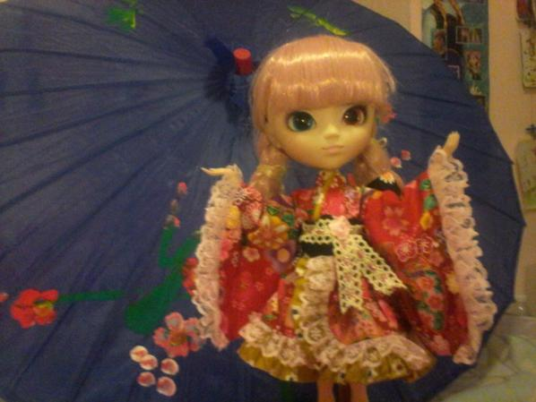 ma pullip mémoria en kimono
