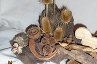 Décoration de table écureuil modèle unique