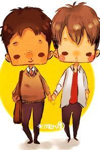 Image 209 : Couple Chibi