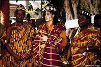 michael  devient  prince  du  royaume de  SANWI en COTE D  IVOIRE