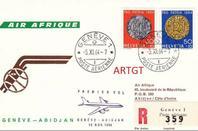 collection  air  afrique  vols  speciaux