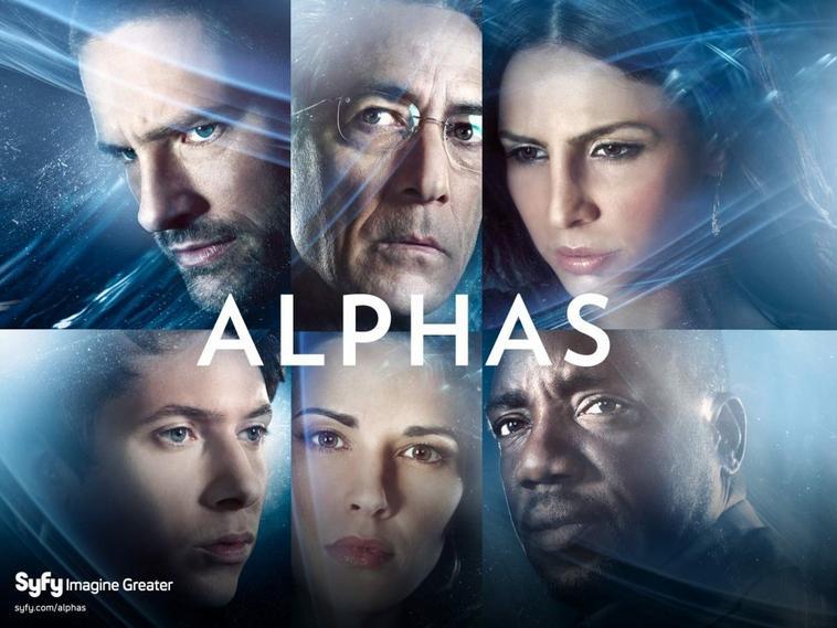 Alphas  Syfy..