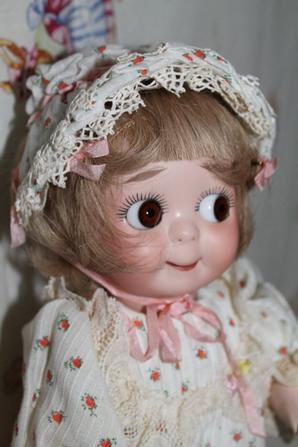 Je vous présente ma poupée Googlie JDK Reproduction 221