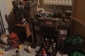 La garde du palais princier a été misterieusement renforce..