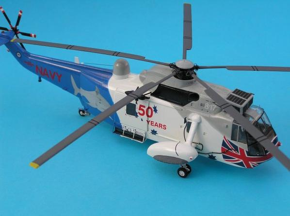 SEA KING MK 50Aau 1/72 maquette FUJIMI
