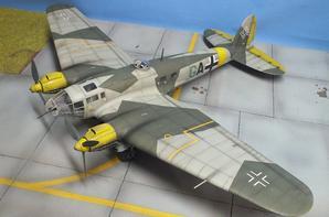 maquette HEINKEL He111 monogran au 1/48