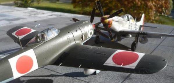 maquette au 1/48  un KI 84 (FRANCK)