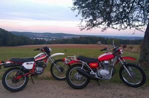 HONDA XLS 125 ET SL 350