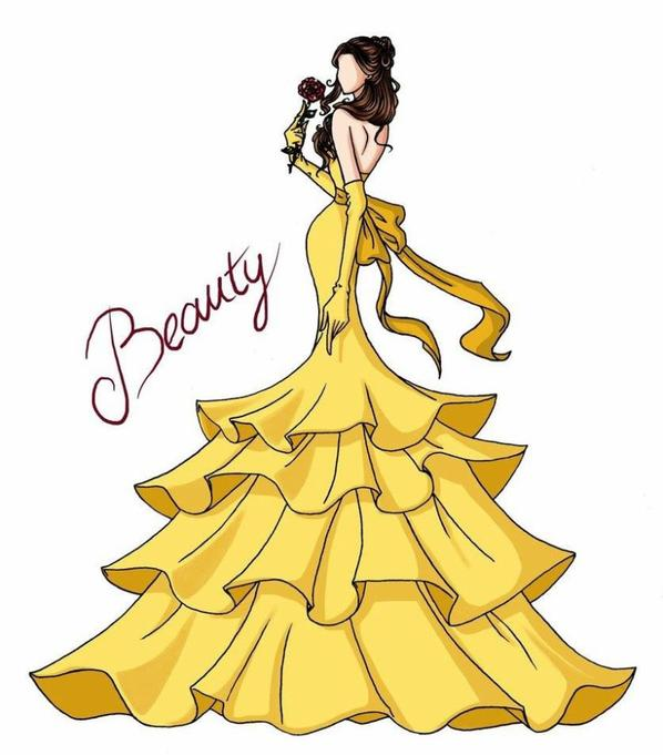 Elle sorte leur plus belle robe