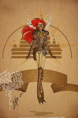 Lesprinces et les  princesse en mode Steampunk 2