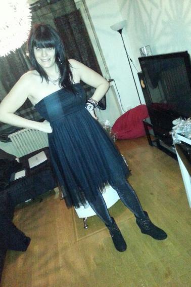 Les robes que j'ai porté pendant les fêtes de Noel.