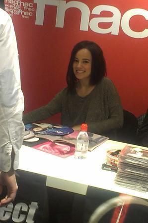 Ma rencontre avec Alizée ! 10.04.2013 <3  4 ans déjà !