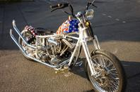 HARLEY DAVIDSON 1340 SHOVEL CAPTAIN AMERICA TRIBUTE