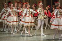 Russian ballet dancer