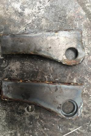 Fabriquer une béquille Lambretta LD125 ou LD150