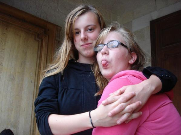 moi ma soeur et gaelle