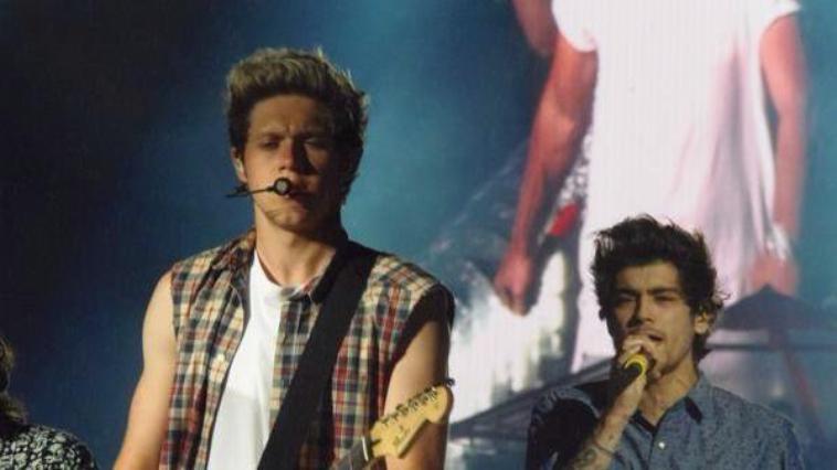 Niall sur scène à Washington DC le 11/08/14