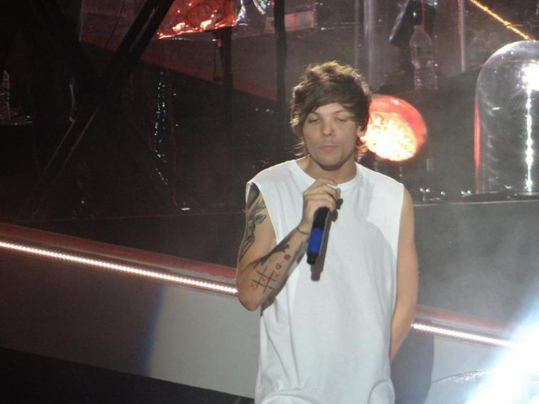 Louis sur scène à Philadelphie le 14/08/14