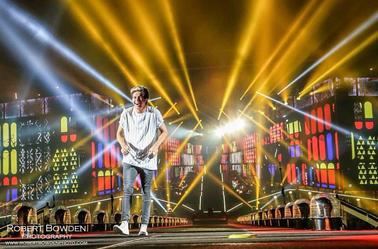 Niall sur scène à Détroit le 16/08/14