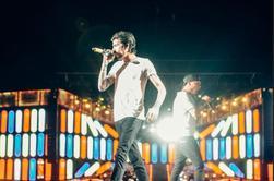 Zayn sur scène à Nashville le 19/08/14