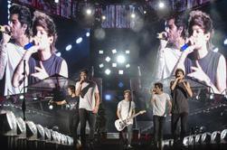 Les boys sur scène à Nashville le 19/08/14 (2)