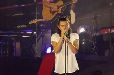 Harry sur scène à Houston le 22/08/14 (2)