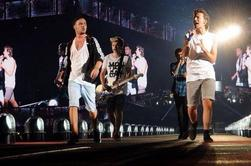 One Direction sur scène à Houston le 22/08/14