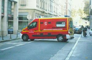 Suite véhicules du SDIS du Rhône