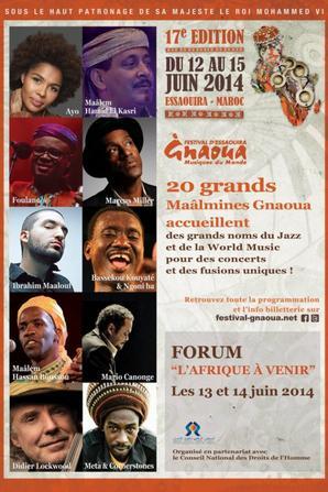 Festival Gnaoua et Musiques du Moooooonde