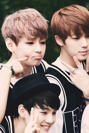 Moi, Jimin et Taehyung