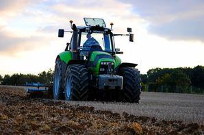 Préparation des terres a blé !