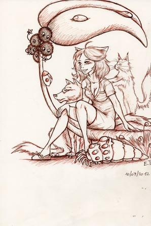 Monde imaginaire,  Miyazaki