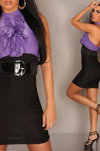 robe sexy avec ceinture