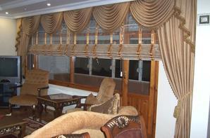 salon marocain rideaux