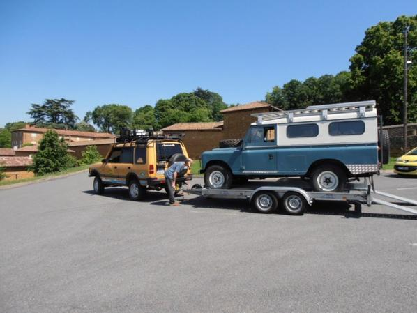 land rover discovery et land rover 109