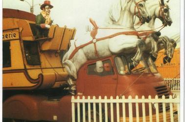 Le camion Snack-Bar de 1972 .