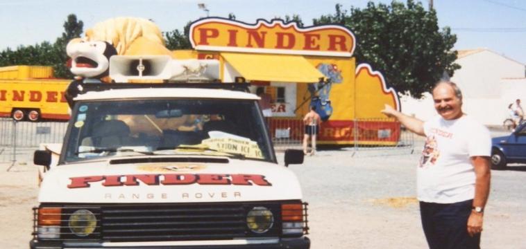 Le Range Rover Pinder .